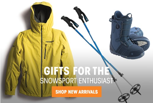 Gifts for - the Snowsport Enthusiast - shop new arrivals