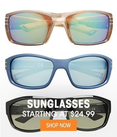 Sunglasses - Starting at $24.99