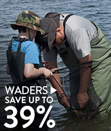 Waders - save up to 39%