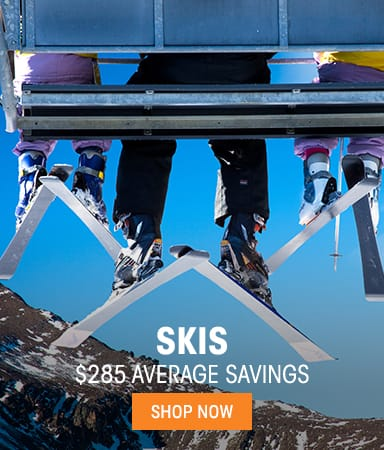 Skis - $285 average savings