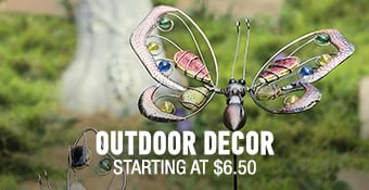 Outdoor Decor - starting at 60%