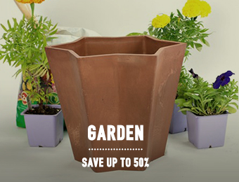 Garden - save up to 50%