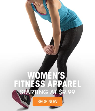 Women's Fitness Apparel - Starting @ $9.99