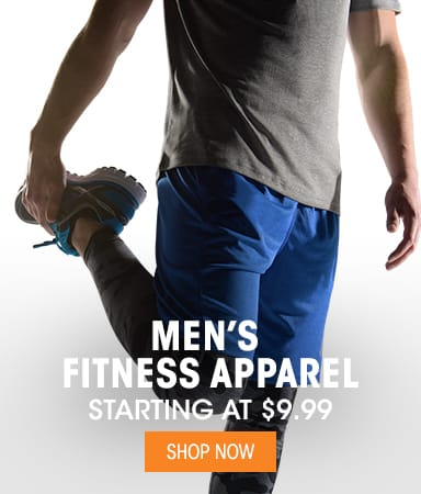 Men's Fitness Apparel - Starting at $9.99