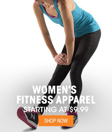Women's Fitness Apparel - Starting at $9.99