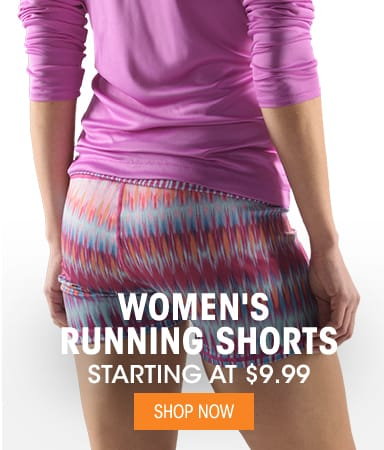 Women's Running Shorts - Starting at $9.99