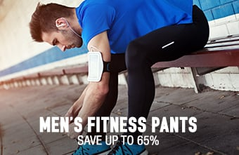 Men's Fitness Pants - save up to 65%