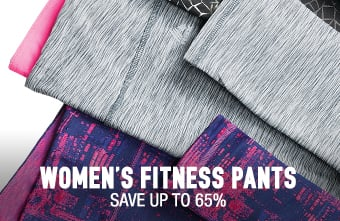Women's Fitness Pants & Leggings - save up to 80%