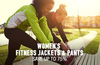 Women's Fitness Jackets & Pants - save up to 75%