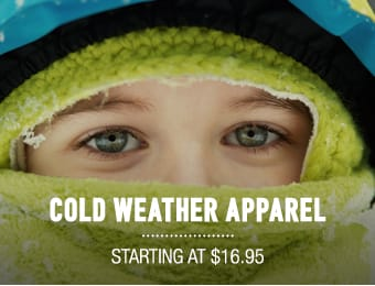 Cold Weathr Apparel - starting at $16.95