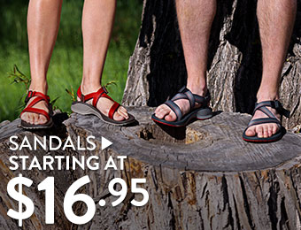 Sandals - starting at $16.95