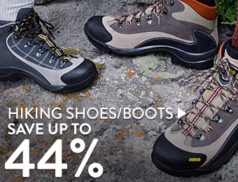 Hiking Shoes & Boots - save up to 44%