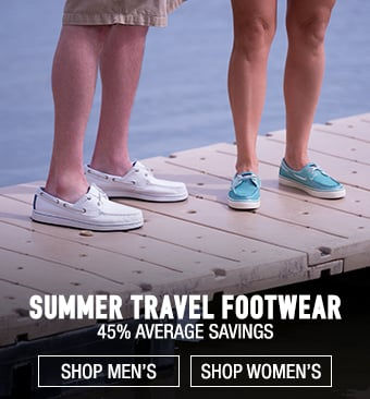 Summer Travel Footwear