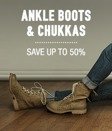 Ankle Boots & Chukkas - save up to 50%
