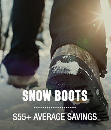 Snow Boots - average savings $55+