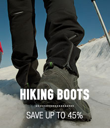 Hiking Boots - save up to 45%