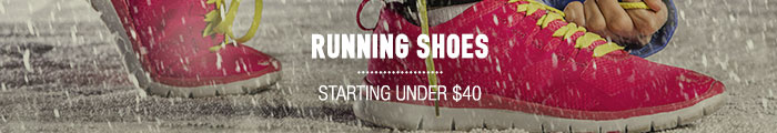 Running Shoes - starting under $40