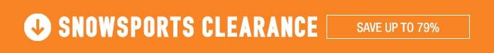 Snowsport Clearance - Preseason Savings