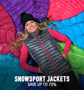 Snowsport Jackets - save up to 70%