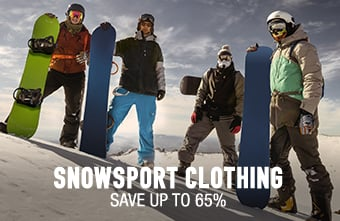 Snowsport Clothing - save up to 65%