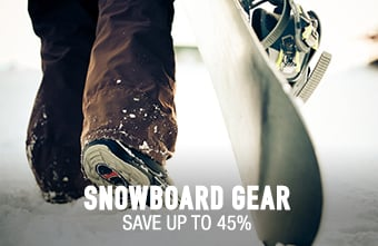 Snowboard Gear - save up to 40%
