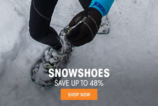 Snowshoes - save up to 48%