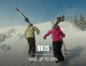 Skis - save up to 50%