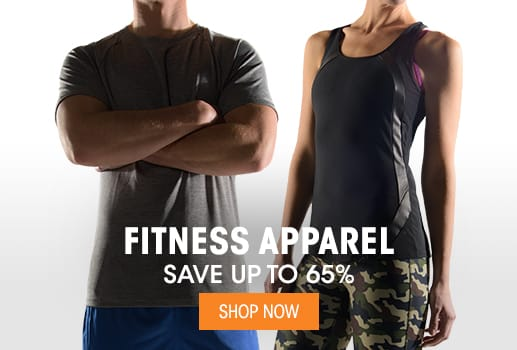Fitness Apparel - Save up to 65%
