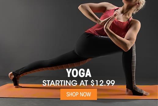 Yoga - Starting at $12.99