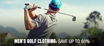 Men's Golf Clothing - save up to 60%
