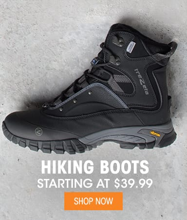 Hiking Boots - Starting at $39.99