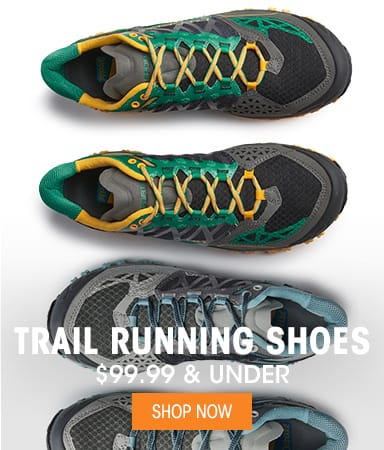 Trail Running Shoes - $99.99 & Under