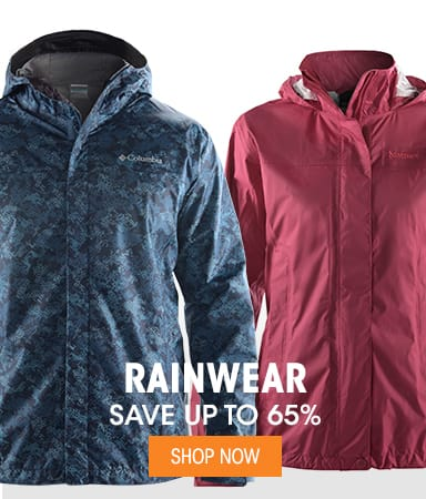 Rainwear - Save up to 65%