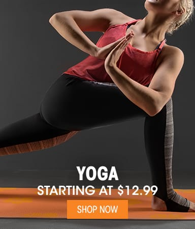 Yoga - Starting at $12.99