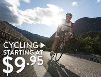 Cycling - starting at $9.95