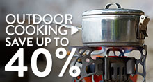 Outdoor Cooking - save up to 40%