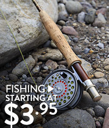 Fishing - starting at $3.95