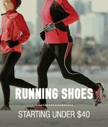 Running Shoes - starting under $40