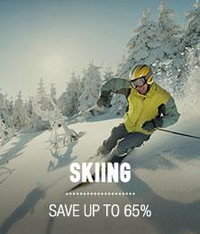 Skiing - starting at $19.95