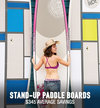 Stand Up Paddleboards - average savings $345