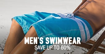 Men's Swimwear - save up to 60%