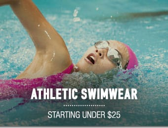 Athletic Swimwear - starting under $25