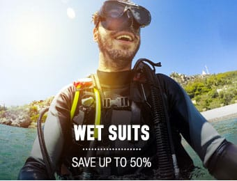 Wet Suits - save up to 50%