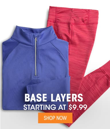 Base Layers - Starting at $9.99