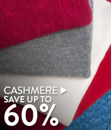 Cashmere - save up to 60%