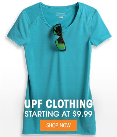 UPF Clothing - Starting at $9.99