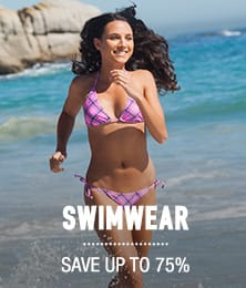 Swimwear - save up to 75%