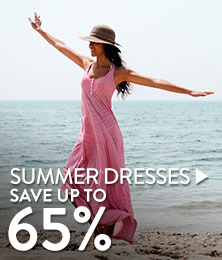 Summer Dresses - save up to 65%
