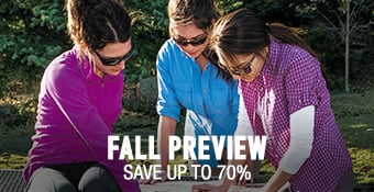 Fall Preview - save up to 70%