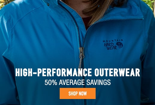 High-Performance Outerwear - 50% average savings